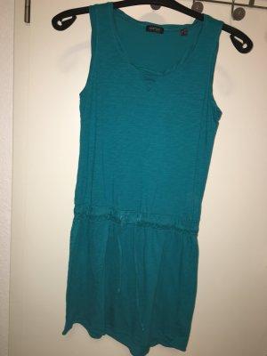 Kleid petrol blau/grün