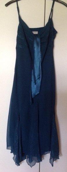 Kleid petrolfarben Größe 40