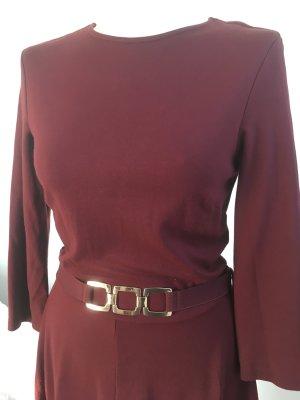 Kleid Phase Eight Gr. 10 / 38 Burgunderrot Neuw.
