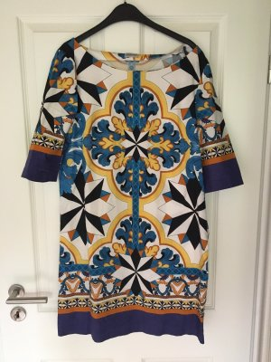 Philosophy Di Alberta Ferretti Tunic Dress multicolored cotton