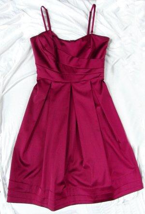 Kleid pink, abnehmbare Träger, elegant