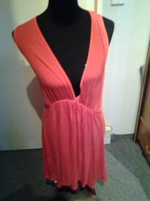 Kleid - pink - Ausschnitt - Rückenfrei - Größe M