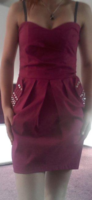 Kleid pink mit Pailletten