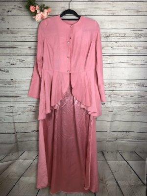 Robe de soirée rose-rose