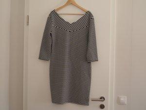 Kleid *Promod* schwarz-weiß gestreift Gr. XL