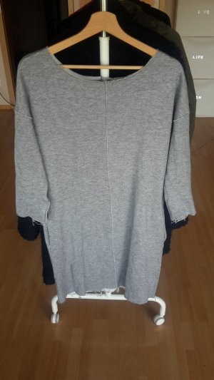Amisu Robe Sweat gris