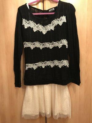 Kleid Pullover Set