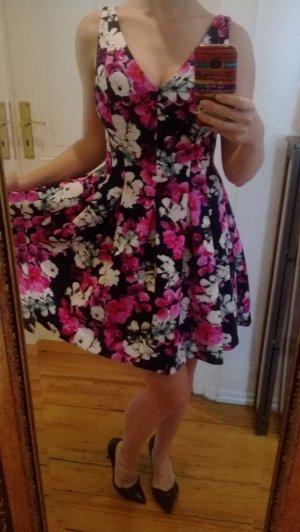 Kleid Ralph Lauren Kleid mit Blumenmuster 38 40 M Sommer Cocktailkleid Blumenmuster