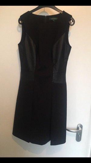 Lauren by Ralph Lauren Leather Dress black