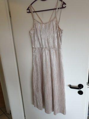 Kleid/ Reserved Kleid/ goldenes Kleid/ schickes Kleid/ langes Kleid