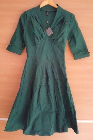Kleid Retro NEU Gr. S in Grün #346