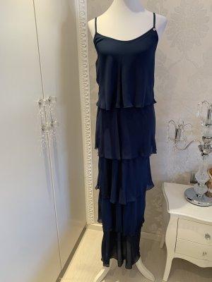 Kleid Rinascimento gr M blau lang