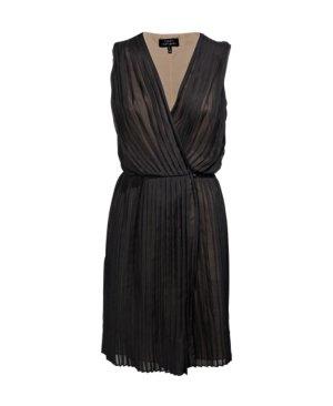 Kleid Robert Rodriguez 100% Seide Cocktailkleid schwarz Weihnachten