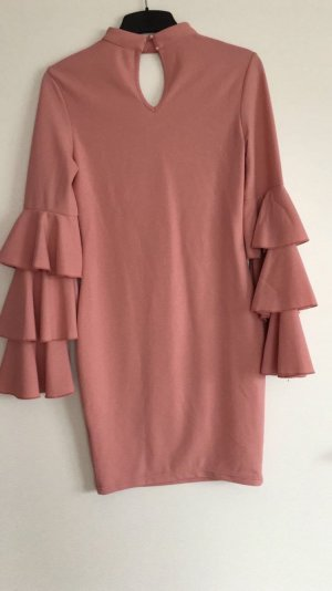 no name Flounce Dress rose-gold-coloured-pink
