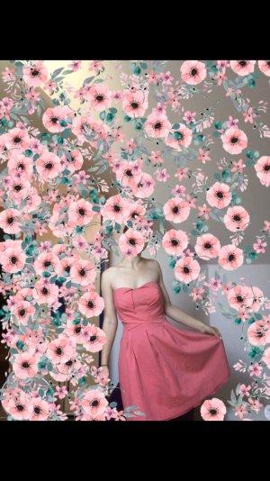 Orsay Vestido strapless rosa