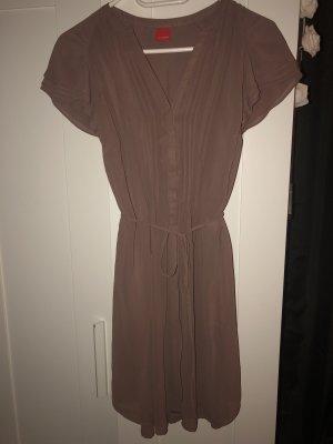 Kleid rosa braun