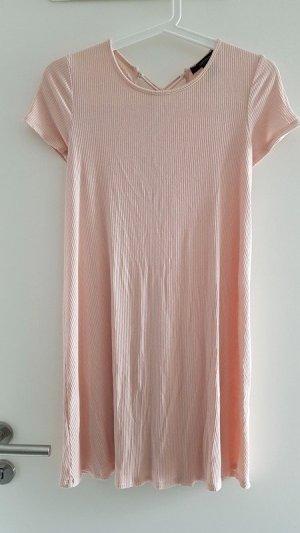 Kleid rose Forever 21 Minikleid 34 XS mit Schnürung