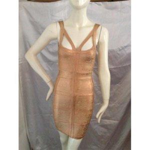 Kleid rosé gold Bandage Corsagen Dress à la HL Hervé légère