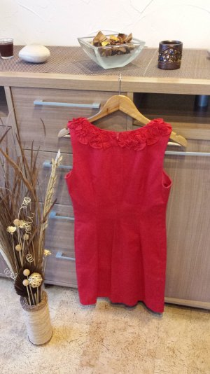 Kleid rot / Etuikleid