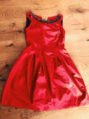 Kleid rot Größe 34 wie neu