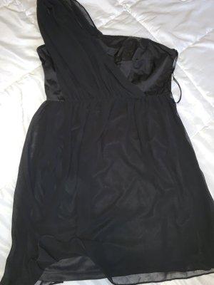 s.Oliver Vestido de un hombro negro