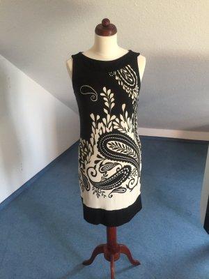 Kleid S.Oliver, schwarz-weiß