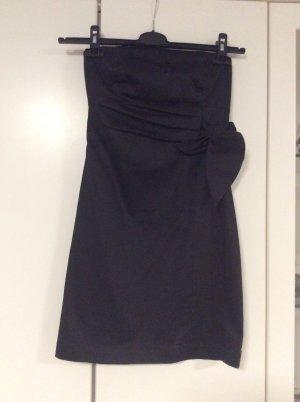 Samsøe & samsøe Off the shoulder jurk zwart Katoen