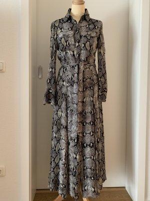 Kleid Schlangenlederprint Massimo Dutti