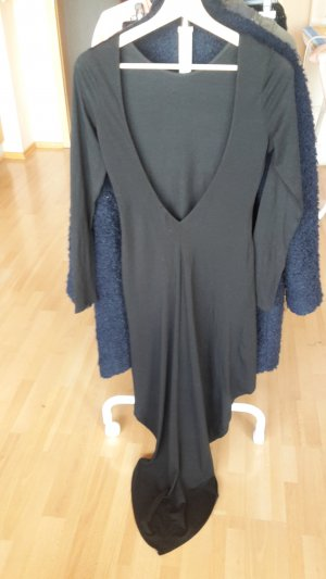 H&M Divided High Low Dress black