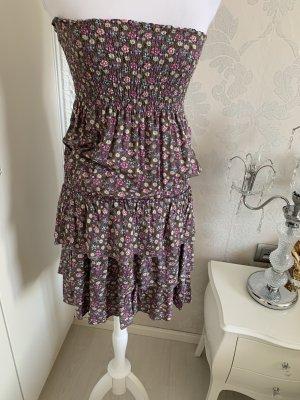 Kleid schulterfrei gr 36 oben mit gummi dehnbar