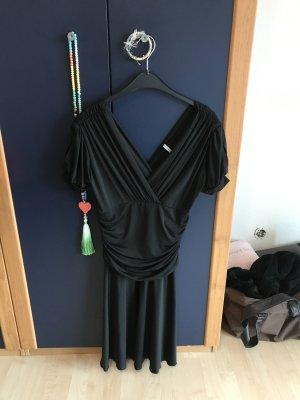 Kleid schwarz Abend Sommer