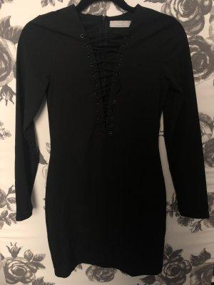Kleid Schwarz Abendkleid Minikleid