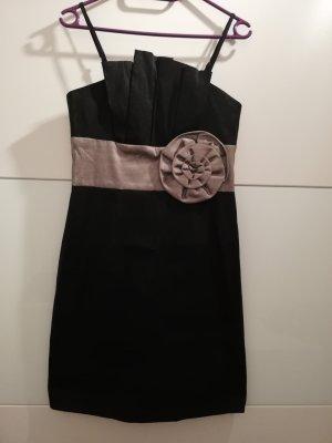 b.p.c. Bonprix Collection Jurk zwart-zilver