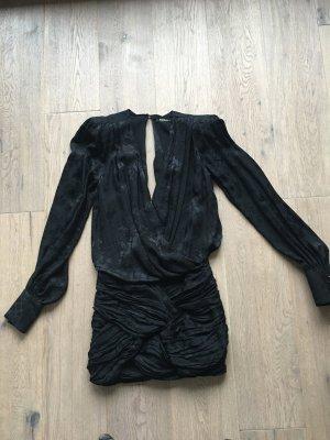 Kleid, schwarz, Balmain x H&M