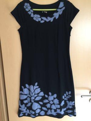 Kleid schwarz/blau