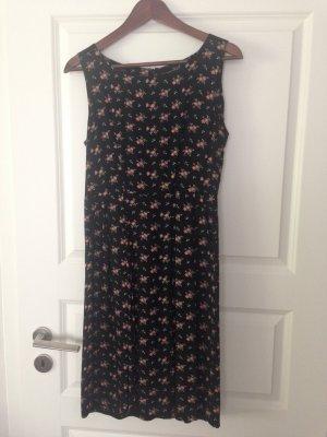 Kleid schwarz Blumen Tara Jarmon Gr 38