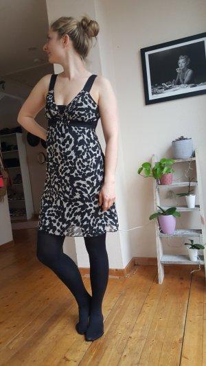 Kleid schwarz/creme