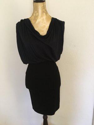 Kleid schwarz / dunkelblau