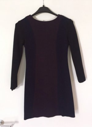 Kleid schwarz lila sandro für den Herbst