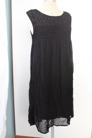 Kleid schwarz Mango Suit Gr. XS 34 36 neu Strandkleid A Linie gothic Tunikakleid