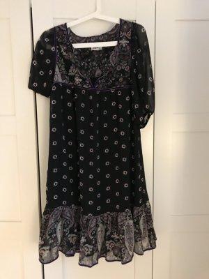Kleid schwarz mit blumen neu