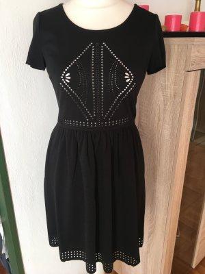 Kleid schwarz mit Cut Outs boho sexy Deby Debo Gr. S NEU mit Etikett