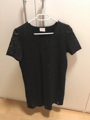 Kleid schwarz mit Spitze Minikleid