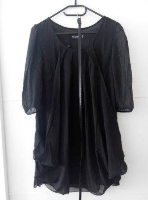 Kleid schwarz mit unterbrust Gurtel neu mit Etickett Gr S
