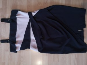 Kleid schwarz/ nude