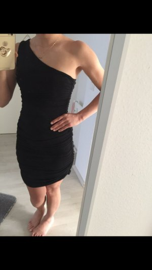 Kleid schwarz one shoulder
