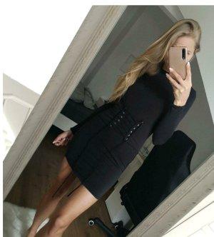 Kleid schwarz Schnürung XS NEU