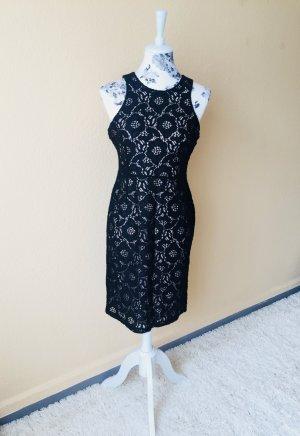 Kleid, schwarz, spitze!