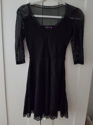 Kleid schwarz Spitze