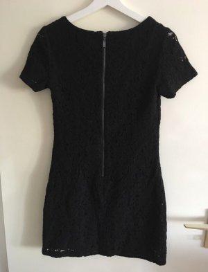 Kleid schwarz Spitze NEU XS 34 Reißverschluss kurz